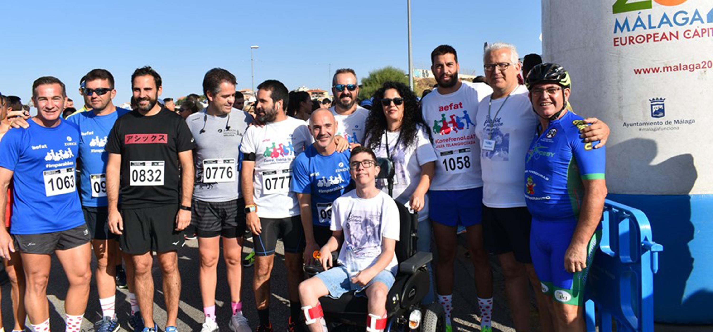 V Carrera solidaria AEFAT - Málaga